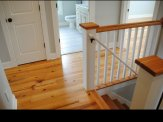 custom home hampstead stair area