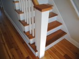 custom home hampstead stairs